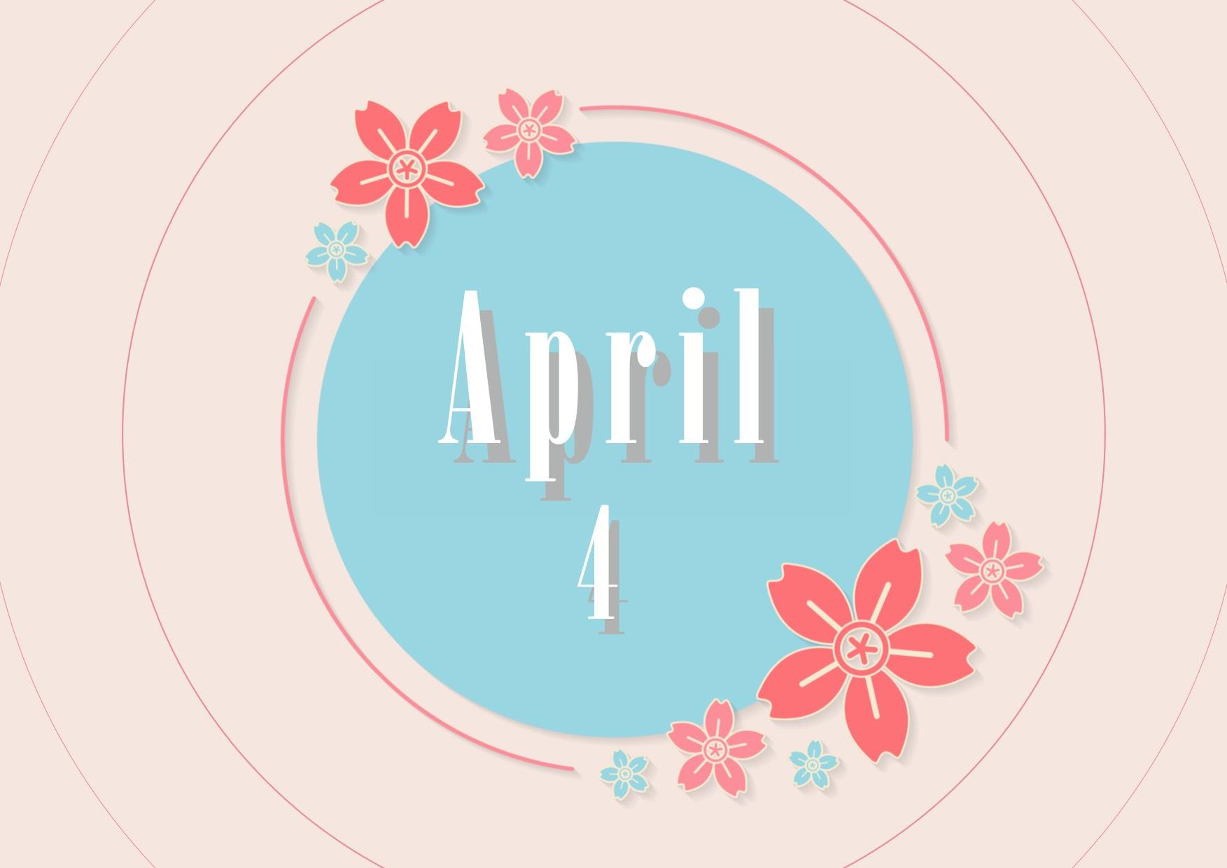 4月の営業のお知らせ